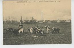 SAINT AVERTIN - La Mère Aux Chèvres - Usine Saint Gobain - Saint-Avertin