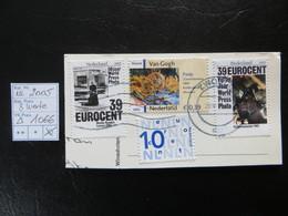 """2005  """" 3 Werte """"  Auf Ausschnitt, Vollstempel ZWOLE   LOT 1066 - Gebraucht"""