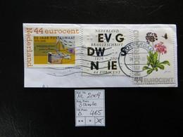 """2009  """" 3 Werte """"  Auf Ausschnitt, Vollstempel  ROTTERDAM    LOT 465 - Gebraucht"""