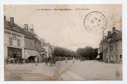 - CPA DUN-SUR-AURON (18) - Les Promenades 1913 (avec Personnages) - Edition Auxenfans 1124 - - Dun-sur-Auron