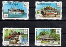 Kiribati, 1980, SG 112 - 115, MNH - Kiribati (1979-...)