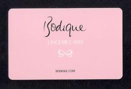 Carte Cadeau  BODIQUE - HUNKEMÖLLER   Lingerie.   Gift Card. - Cartes Cadeaux
