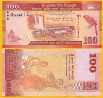 Sri Lanka100 Rupees P-125 2015 UNC Banknote - Sri Lanka