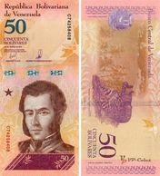 Venezuela - 50 Bolivar 2018  UNC - Venezuela