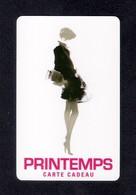 Carte Cadeau  PRINTEMPS.   Gift Card. - Cartes Cadeaux