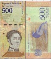 Venezuela -500 Bolivar 2018  UNC - Venezuela