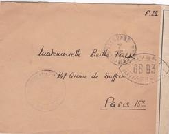 Cad Camp De La Valbonne + Censure - 2. Weltkrieg 1939-1945
