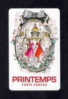 Carte Cadeau  PRINTEMPS  Noël 2012.   Gift Card. - Cartes Cadeaux