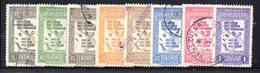 CI1087 - VENEZUELA 1950, Posta Aerea Serie Yvert N. 296/304  Usata Priva Del Solo N. 299. Censimento - Venezuela
