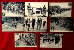 LOT 8 CPA MILITARIA GUERRE EQUIPEMENT DE L'ARMEE - UNIFORME Réséda Des SOLDATS D' INFANTERIE, TENUE De CAVALERIE - Uniformes