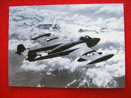 CARTOLINA DE HAVILLAND VAMPIRE Mk4 VENOM - 1946-....: Ere Moderne