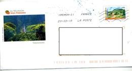 Pap Reunion Flamme Chiffree Sous Code Roc Illustré Takamaka - Prêts-à-poster:  Autres (1995-...)