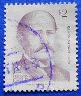 CHILE 2 $ 1983 RAMON BARROS LUCO  - USED - Chili