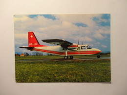 Grenchen - Flugtransport AG Britten Norman Islander (5203) - SO Solothurn
