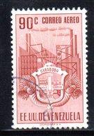 CI1083 - VENEZUELA 1951, Posta Aerea Yvert N. 345  Usato. Carabobo - Venezuela