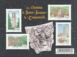 FRANCE 2012 BLOC OBLITERE 1ER JOUR LES CHEMINS DE SAINT JACQUES DE COMPOSTELLE - F4641 - F 4641 - - Oblitérés