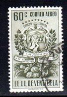 CI1088 - VENEZUELA 1951, Posta Aerea Yvert N. 347  Usato. Tachira - Venezuela
