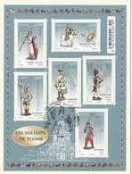 FRANCE 2012 BLOC OBLITERE 1ER JOUR SUR FRAGMENT LES SOLDATS DE PLOMB - F4665 - F 4665 - Oblitérés