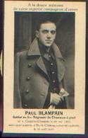 Souvenir Mortuaire BLAMPAIN Paul (1915-1943) Né à GOEGNIES-CHAUSSÉE Mort à THY-LE-CHÂTEAU Retour De Captivité – ---> - 1939-45