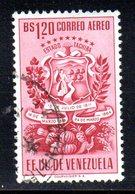 CI1094 - VENEZUELA 1951, Posta Aerea Yvert N. 348  Usato. Tachira - Venezuela