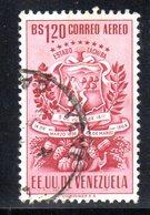 CI1102 - VENEZUELA 1951, Posta Aerea Yvert N. 348  Usato. Tachira - Venezuela