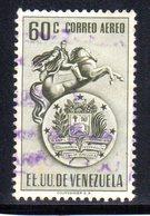 CI1115 - VENEZUELA 1951, Posta Aerea Yvert N. 367  Usata  Bolivar - Venezuela