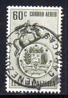 CI1114 - VENEZUELA 1951, Posta Aerea Yvert N. 367  Usata  Bolivar - Venezuela