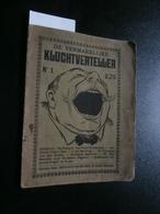 De Vermakelijke Kluchtverteller Nr 1 : Josom, Congo, Enz (De Vlijt) - Livres, BD, Revues