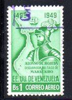 CI1116 - VENEZUELA 1950, Posta Aerea Yvert N. 315  Usata  Maracaibo - Venezuela