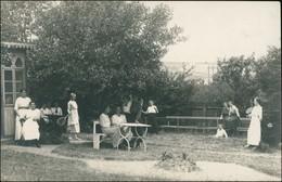 Foto  Frauen Im Garten Beim Tennis - Sport 1912 Privatfoto - Tennis