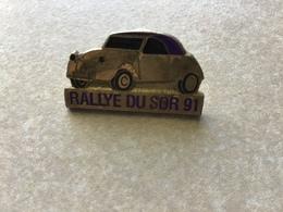 RARE Pin's Clou Serti RALLYE DU SOR 91/ 2CV Citroën  81 TARN - Rallye