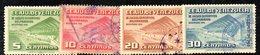CI1120 - VENEZUELA 1952, Posta Aerea Yvert N. 368/371  Usata  Stadio - Venezuela