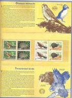France Nouvelle-Zélande Timbres Neufs Oiseaux Menacés - Joint Issues