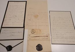 Hélène De Mecklembourg-Schwerin, Duchesse D'ORLÉANS (1814-1858) LAS 1850 AUTOGRAPHE AUTOGRAPH /FREE SHIP. R - Autogramme & Autographen