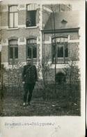 CARTE PHOTO D'UN OFFICIER BELGE - Guerre, Militaire