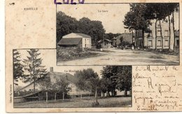 DEPT 54 : Cliché H Carabin : Einville La Gare , Le Moulin ; Multivues - France