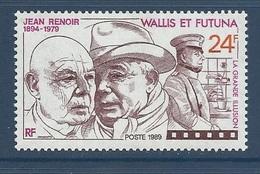 Wallis 1989 Yvert 385  ** Cinema Jean Renoir - Eric Von Stroheim - Wallis Und Futuna