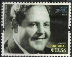 Portugal 2013 Oblitéré Used Ator João Villaret Acteur SU - 1910-... République