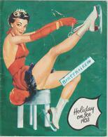Vieux  Papier : Patin à Glace , Holiday On Ice 1953 , Danse, Artiste (  Pub  Suze Au Dos) - Vieux Papiers