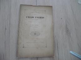 Occitan Félibre Gap 1887 L'Illiado D'Oumèro 3ème  Chant Pascal Hautes Alpes - Poesía