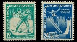 DDR 1952 Nr 298-299 Ungebraucht X8962E6 - DDR
