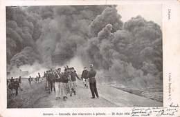 Anvers - Incendie Des Réservoirs à Pétrole 1904 - Antwerpen