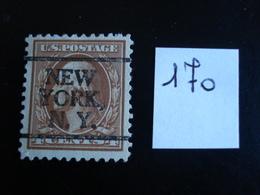 USA - Années 1908-09 - G. Washington 4c Brun - Y.T. 170 - Oblit. - Used - Gestempeld - United States