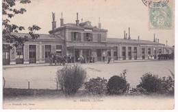 28  Eure Et Loir - DREUX - La Gare - Bahnhöfe Ohne Züge