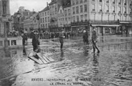 Anvers - Inondation Du 12 Mars 1906 - Le Canal Au Sucre - Antwerpen