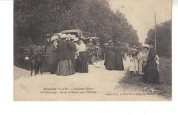 CPA  - PREUILLY  (Seine Et Marne)  Ancien Abbaye  -  Le Pèlerinage -  Avant Le Départ Pour L'Abbaye.. - France