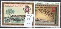 Very Fine Mnh ** Niger Napoleon Stamps  7 Euros - Niger (1960-...)