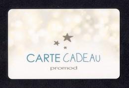 Carte Cadeau  PROMOD.   Gift Card. - Cartes Cadeaux