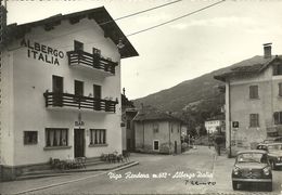 Vigo Rendena Ora Porte Di Rendena (Trento) Albergo Italia E Auto D'Epoca Fiat 600, Italia Hotel And Old Car - Trento