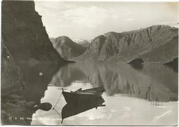 W3191 Norge - Flam Mot Aurland / Viaggiata 1949 - Norvegia